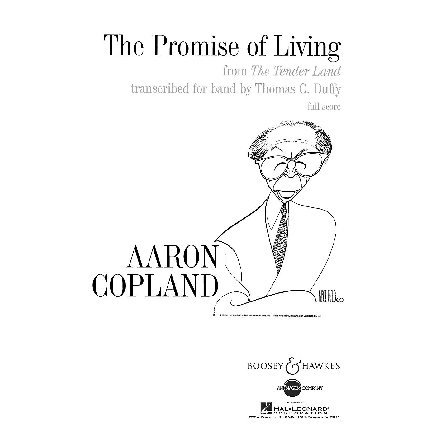 Boosey and Hawkes The Promise of Living (from The Tender Land) Concert Band by Aaron Copland Arranged by Thomas C. Duffy thumbnail