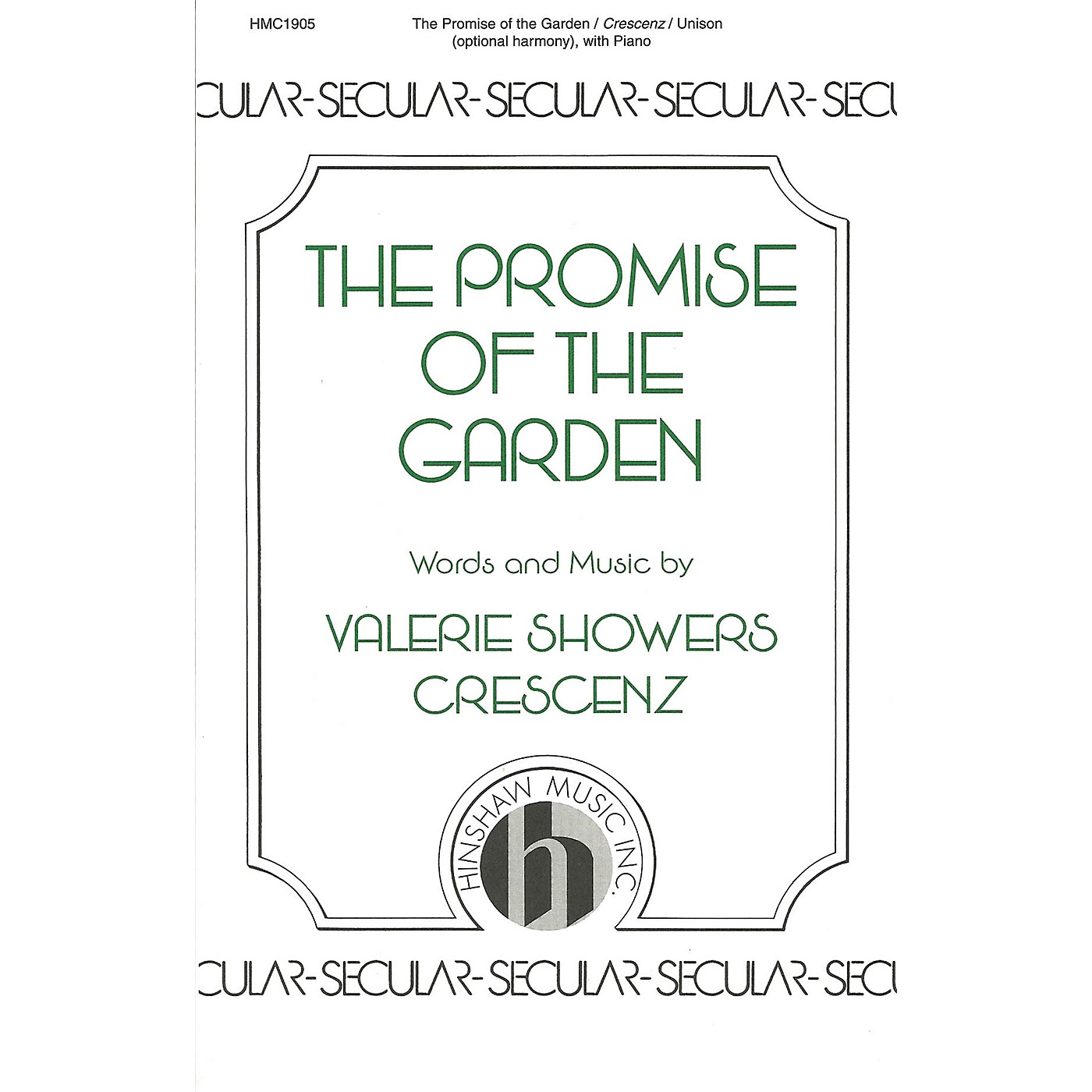 Hinshaw Music The Promise of the Garden UNIS composed by Valerie Crescenz thumbnail