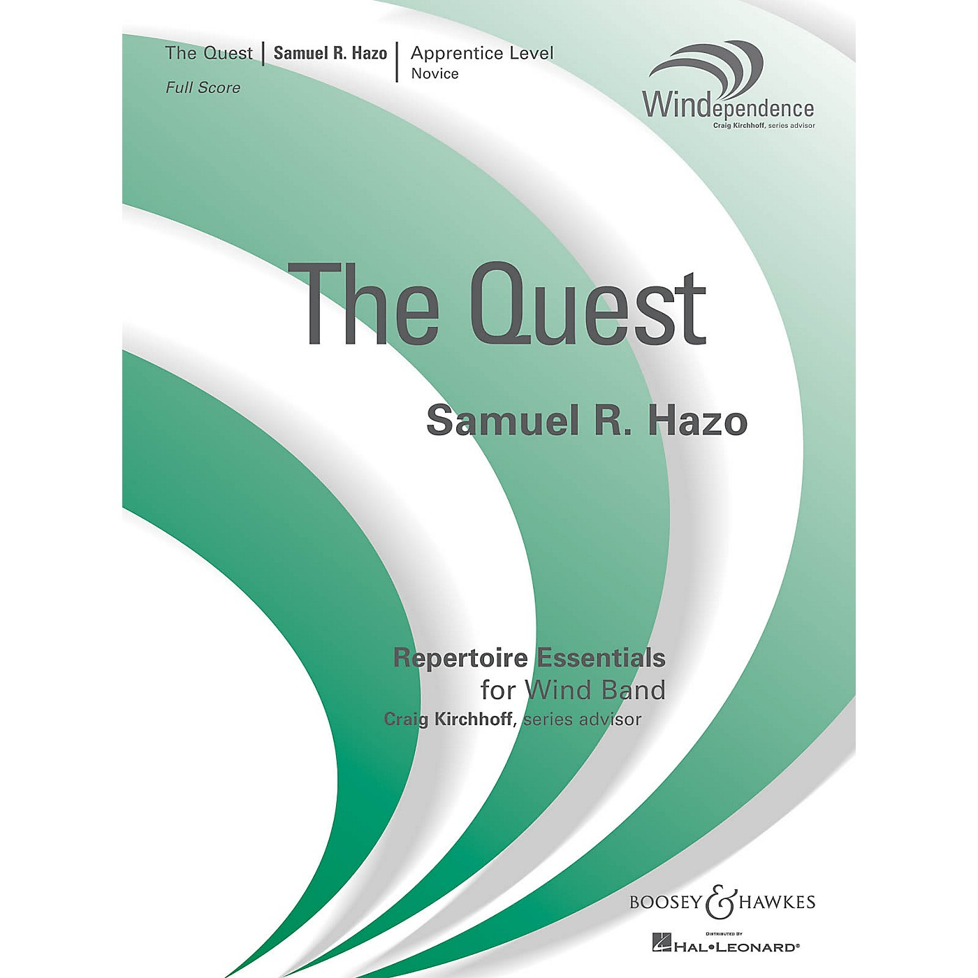 Boosey and Hawkes The Quest (Windependence Apprentice Novice Level (Grade 1-2)) Concert Band Level 2 by Samuel R. Hazo thumbnail