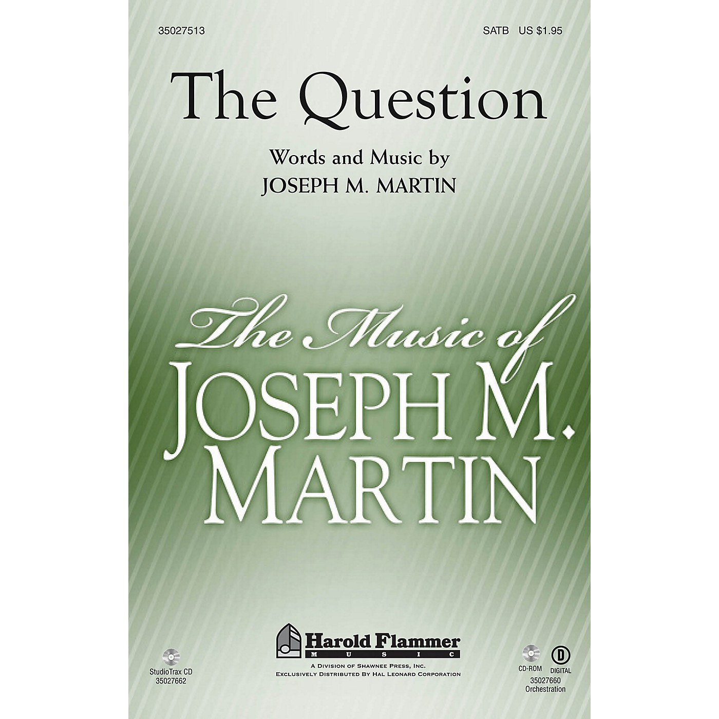 Shawnee Press The Question ORCHESTRATION ON CD-ROM Composed by Joseph M. Martin thumbnail