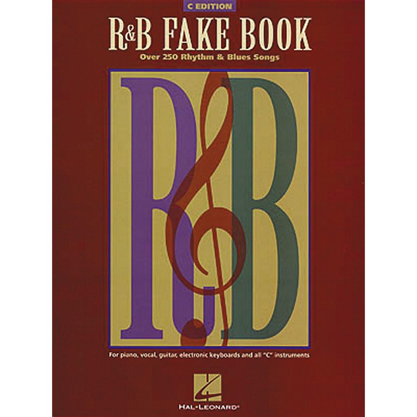 Hal Leonard The R&B Fake Book - C Edition thumbnail