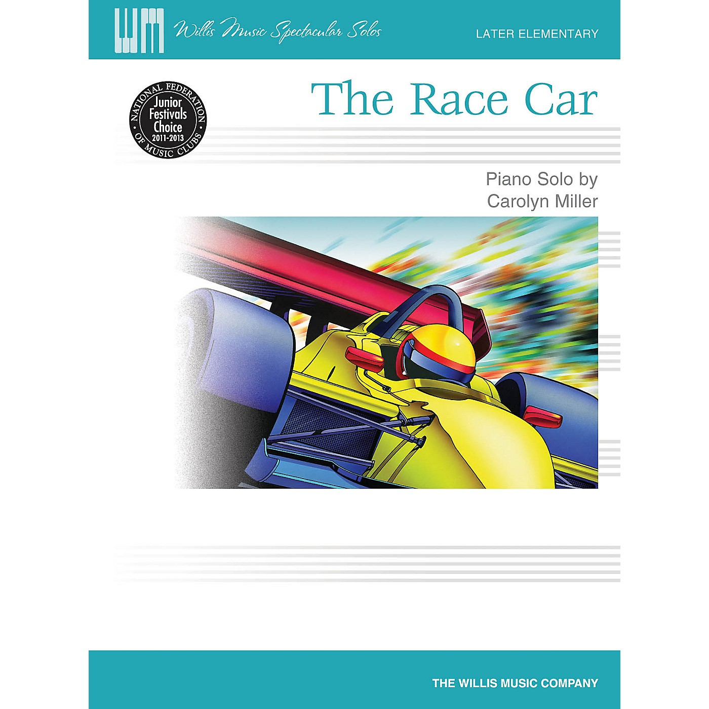 Willis Music The Race Car (Later Elem Level/Willis Music Spectacular Solos) Willis Series by Carolyn Miller thumbnail