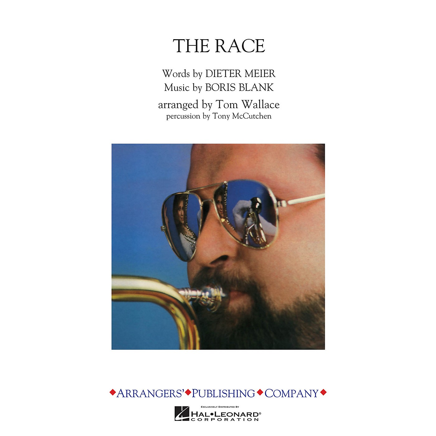 Arrangers The Race Marching Band Level 3 by Yello Arranged by Tom Wallace thumbnail