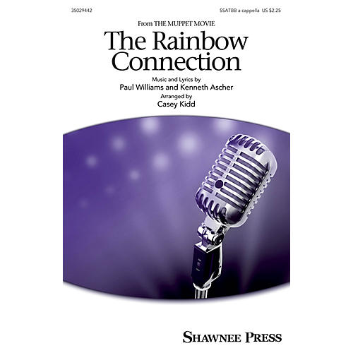 Shawnee Press The Rainbow Connection SAATBB by Kermit The Frog arranged by Casey Kidd thumbnail