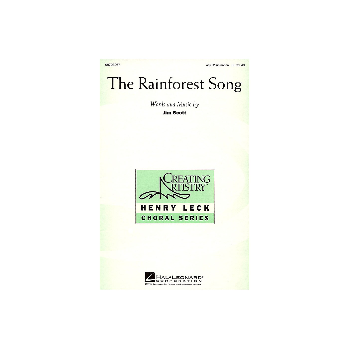 Hal Leonard The Rainforest Song Any Combination composed by Jim Scott thumbnail