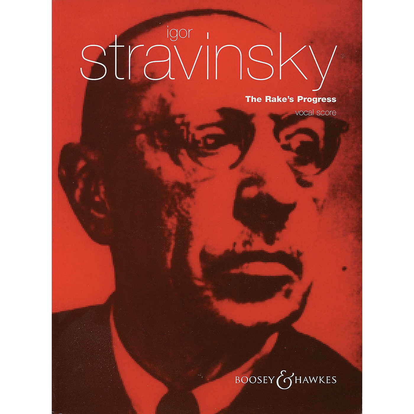 Boosey and Hawkes The Rake's Progress (Opera in Three Acts) BH Stage Works Series  by Igor Stravinsky thumbnail