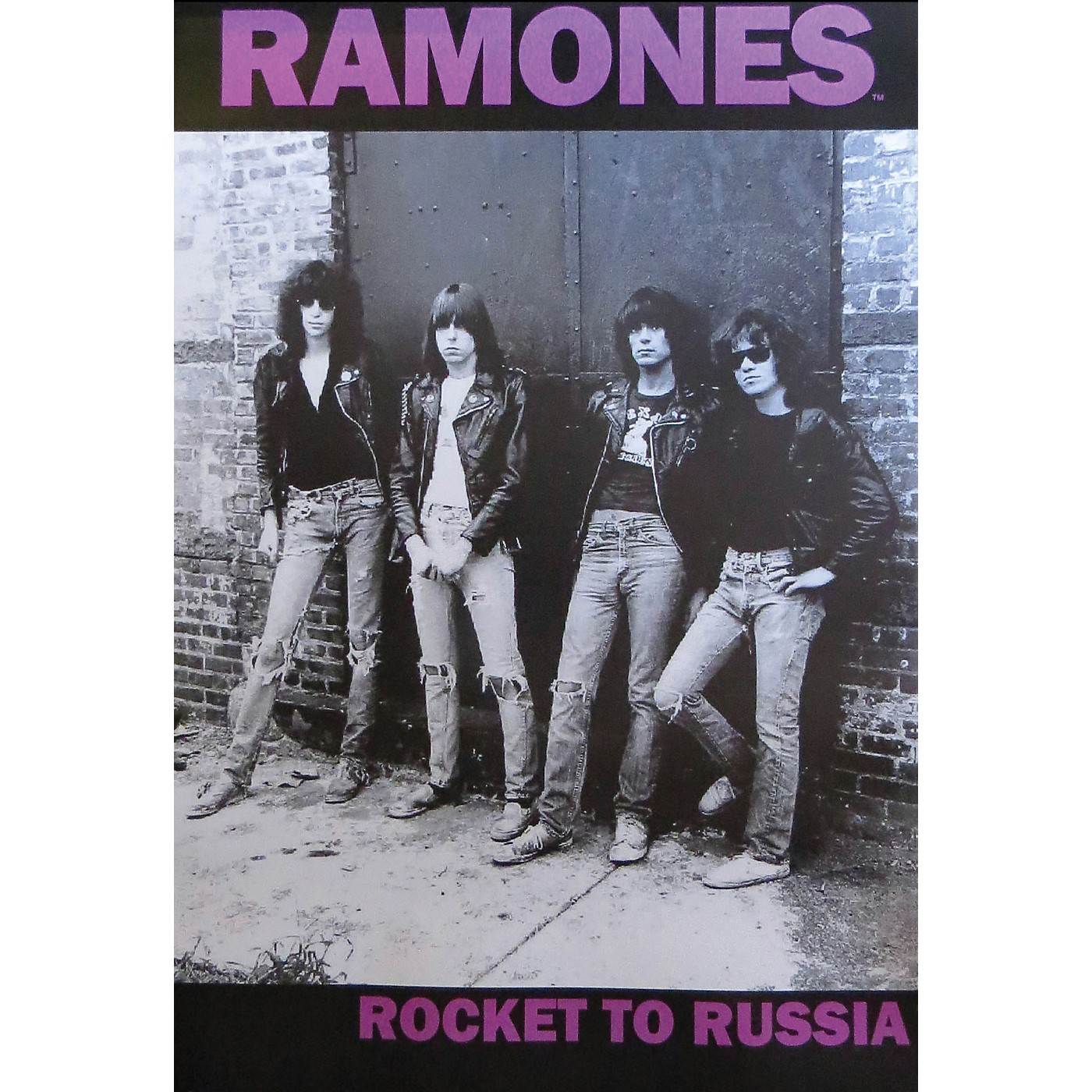 Hal Leonard The Ramones - Rocket to Russia - Wall Poster thumbnail