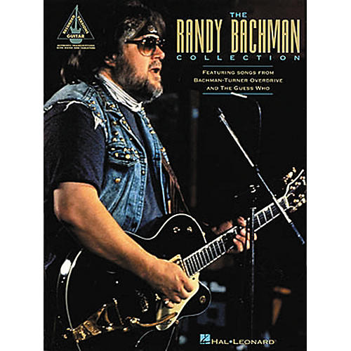Hal Leonard The Randy Bachman Guitar Tab Songbook Collection thumbnail