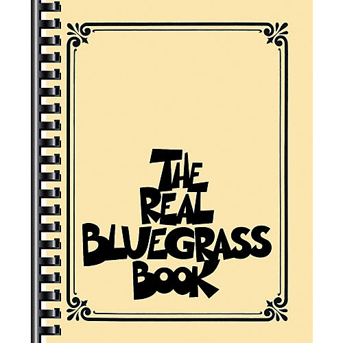 Hal Leonard The Real Bluegrass Book - Fake Book-thumbnail