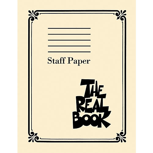 Hal Leonard The Real Book - Staff Paper thumbnail