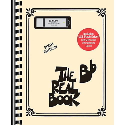 Hal Leonard The Real Book - Volume 1 Real Book Play-Along Series Softcover with USB thumbnail