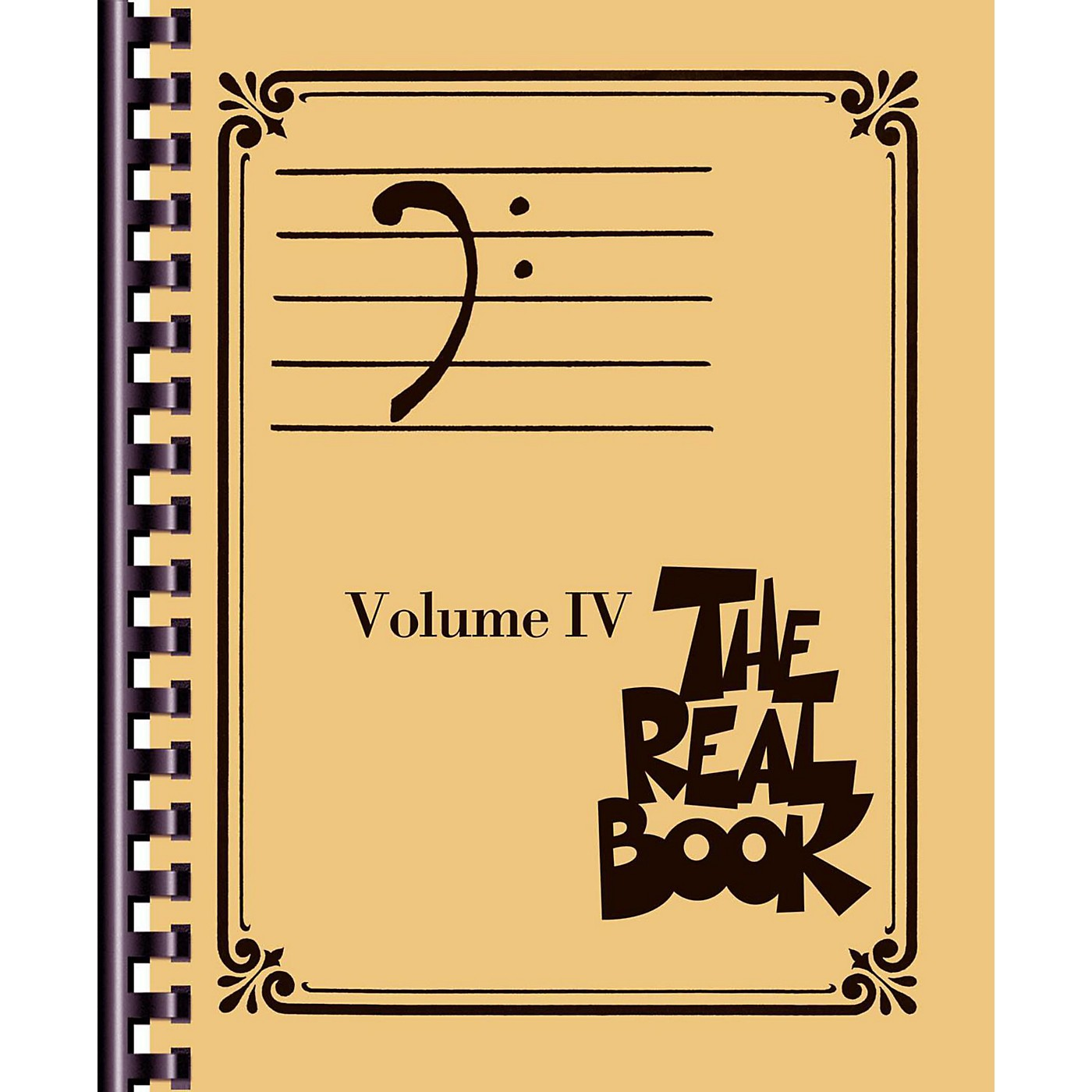Hal Leonard The Real Book - Volume 4 (Bass Clef Edition) thumbnail