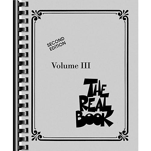 Hal Leonard The Real Book - Volume III (C Edition) thumbnail
