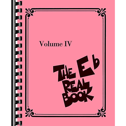 Hal Leonard The Real Book - Volume IV (E-Flat Edition) thumbnail