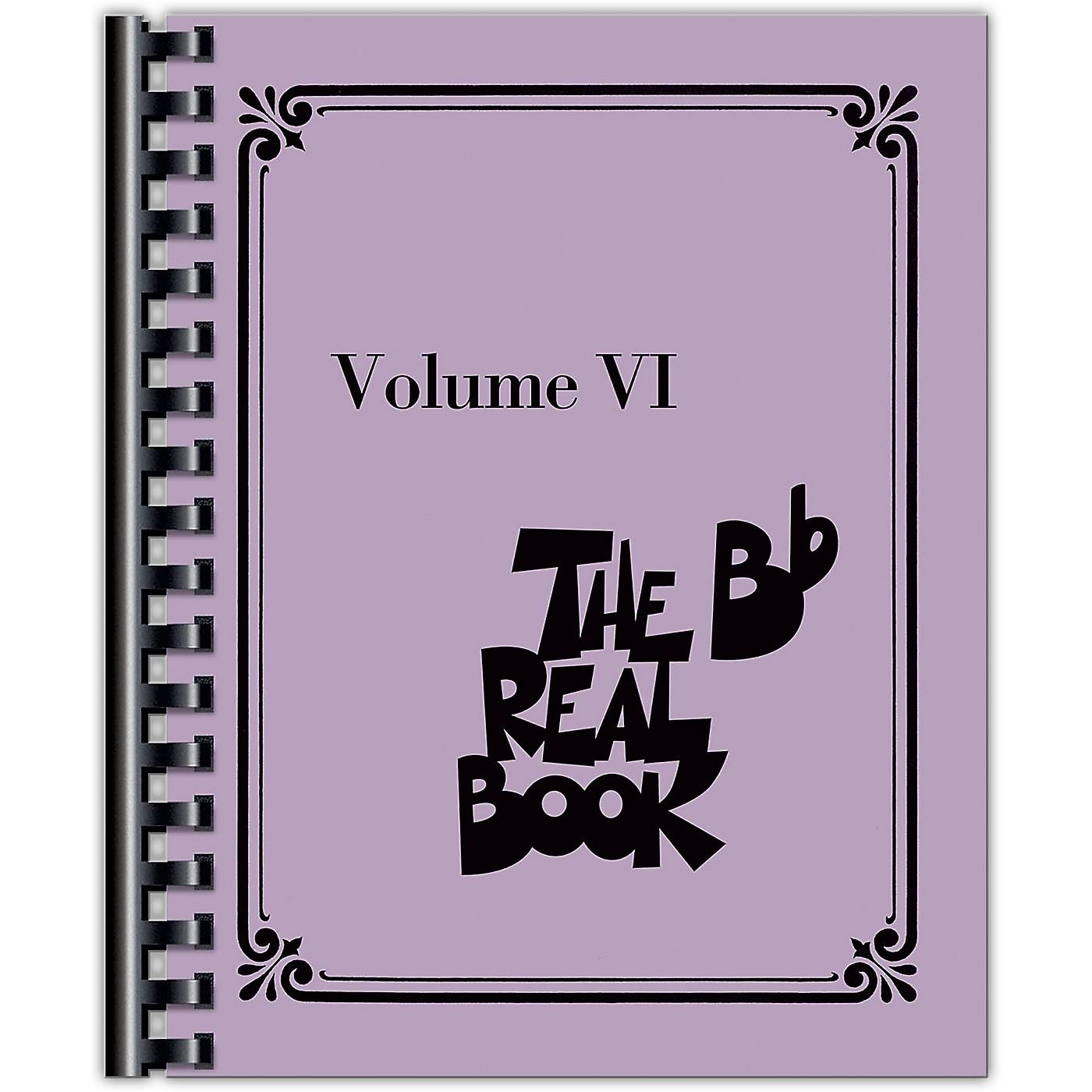 Hal Leonard The Real Book - Volume VI (B-Flat Instruments) Fake Book Series Softcover thumbnail