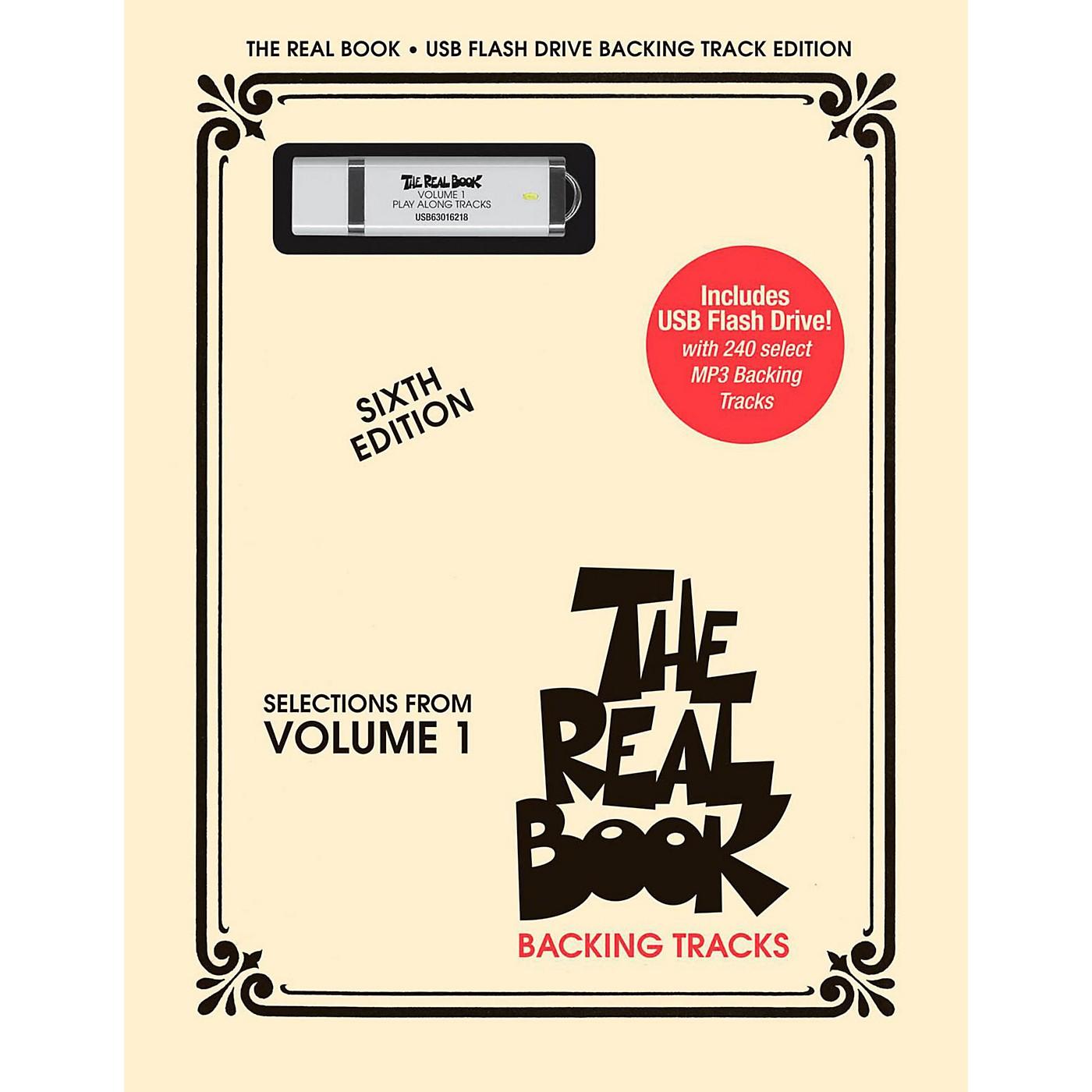 Hal Leonard The Real Book Backing Tracks, Volume 1 (USB Flash Drive) thumbnail