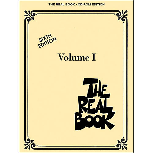 Hal Leonard The Real Book Volume 1 Sixth Edition C Instruments CD-Rom/Pkg-thumbnail