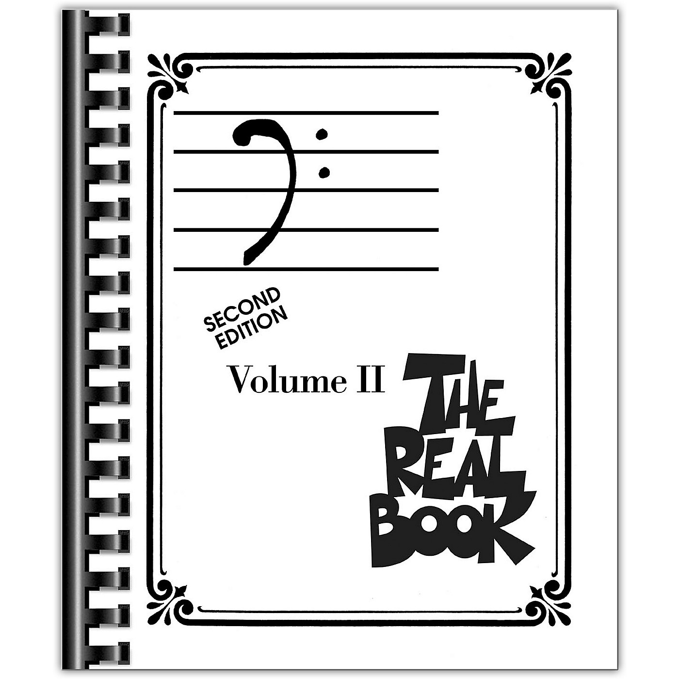 Hal Leonard The Real Book Volume 2 - C Edition Bass Clef Edition thumbnail
