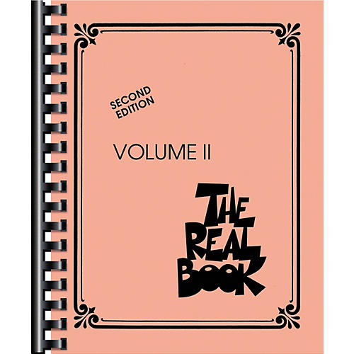 Hal Leonard The Real Book Volume 2 Second Edition C Instruments-thumbnail