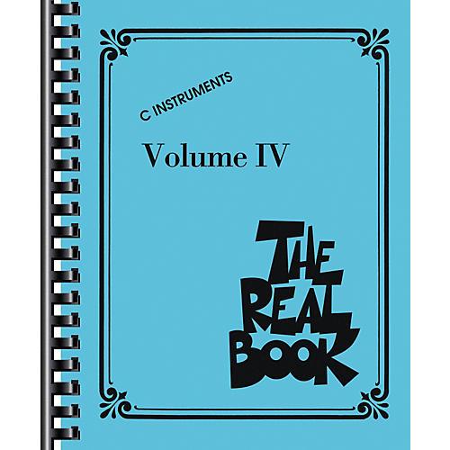 Hal Leonard The Real Book Volume IV (C Edition) - Fake Book thumbnail