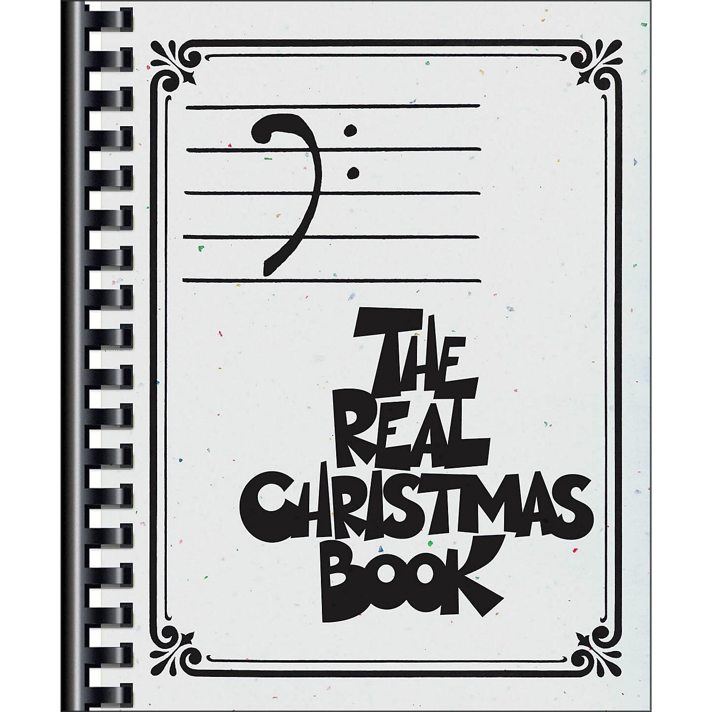 Hal Leonard The Real Christmas Book - Bass Clef Edition thumbnail
