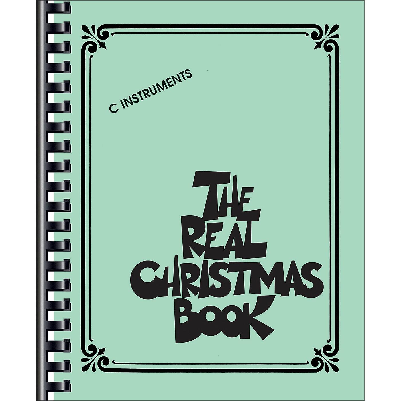 Hal Leonard The Real Christmas Book C Edition thumbnail