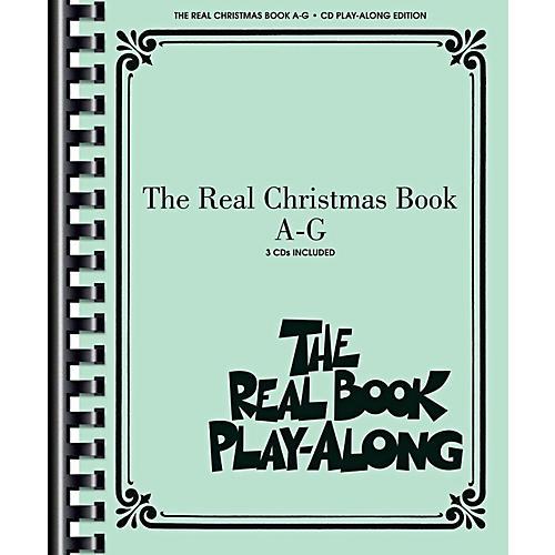 Hal Leonard The Real Christmas Book Play Along A-G Book/3 CD Pack thumbnail