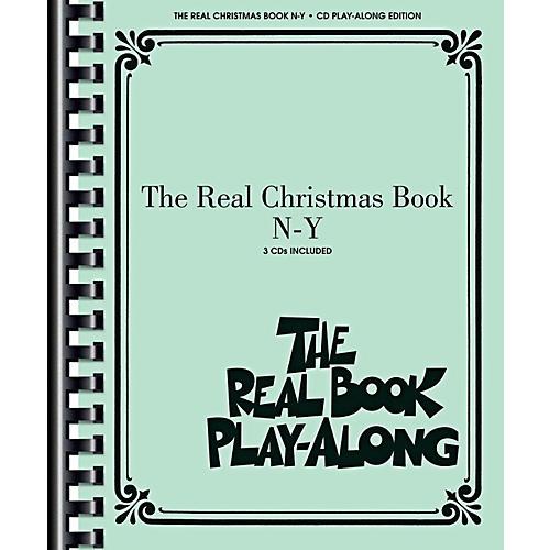 Hal Leonard The Real Christmas Book Play Along N-Y Book/3 CD Pack thumbnail