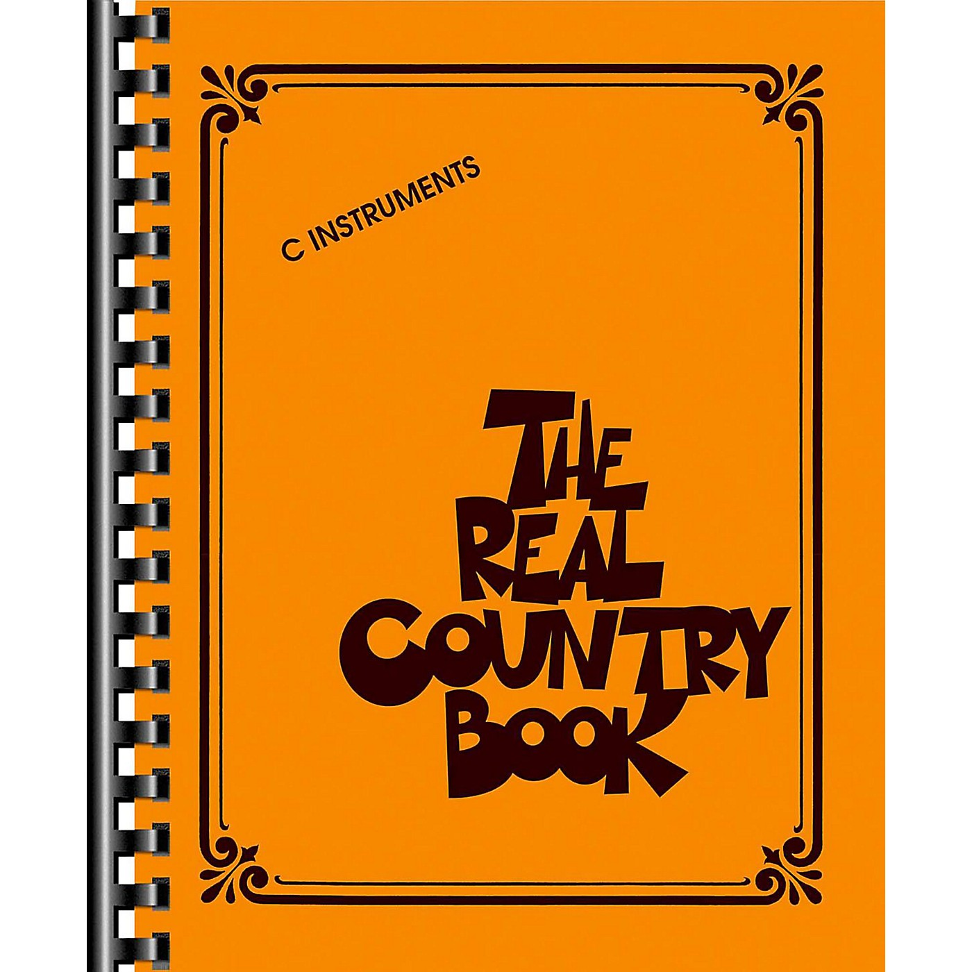 Hal Leonard The Real Country Book - C Edition thumbnail