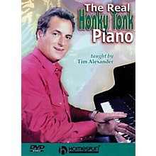 Homespun The Real Honky Tonk Piano Homespun Tapes Series DVD Written by Tim Alexander