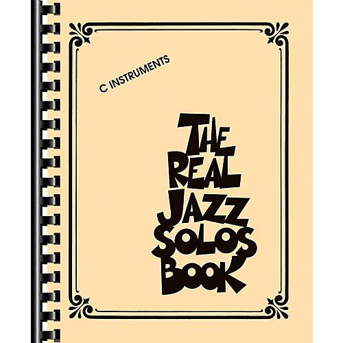 Hal Leonard The Real Jazz Solos Book thumbnail