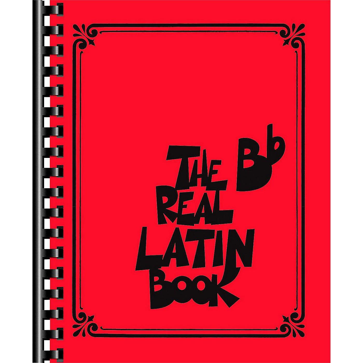 Hal Leonard The Real Latin Book - B Flat Edition Fake Book thumbnail
