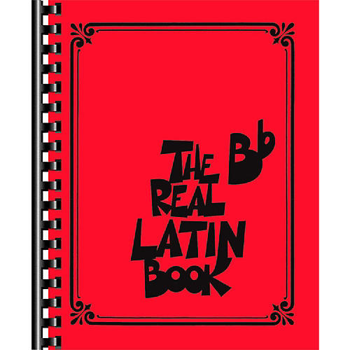 Hal Leonard The Real Latin Book - B Flat Edition Fake Book thumbnail