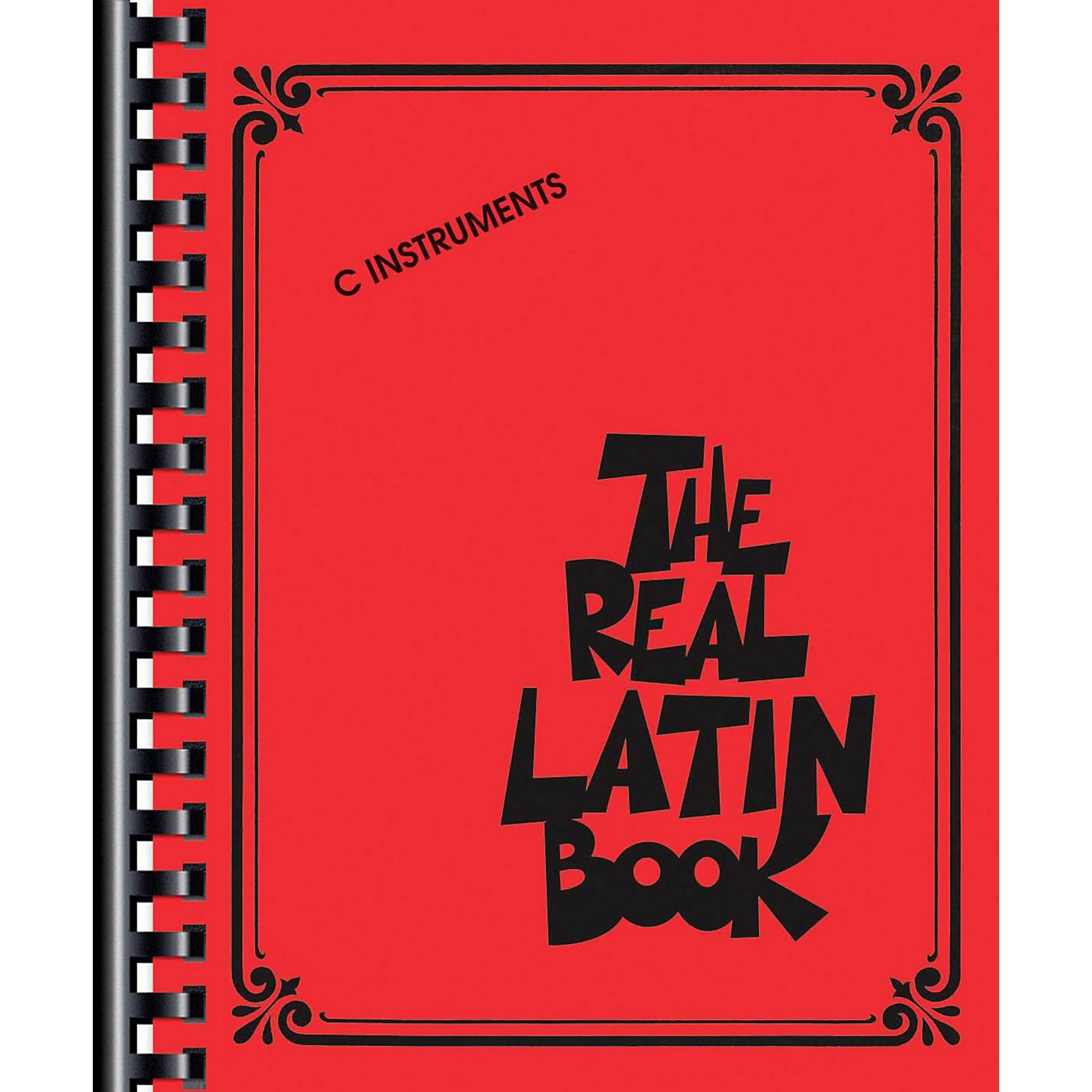 Hal Leonard The Real Latin Book - C Edition thumbnail