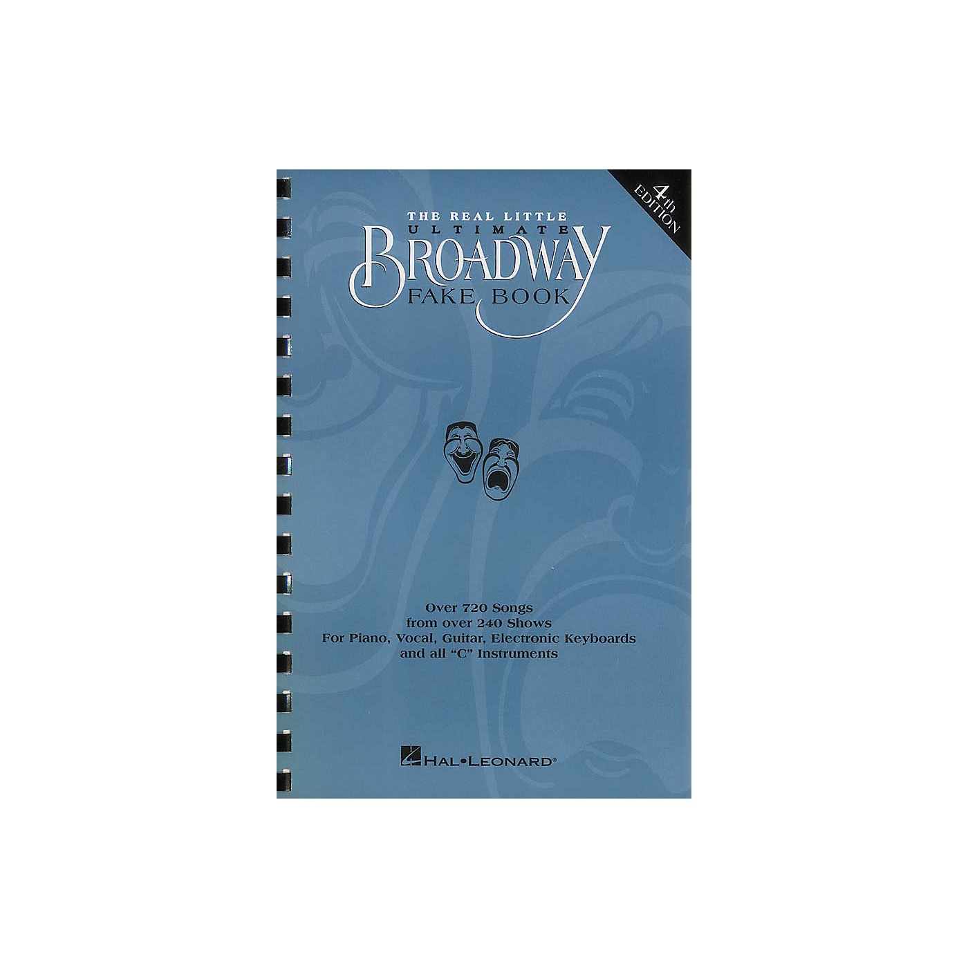 Hal Leonard The Real Little Ultimate Broadway Fake Book 5th Edition thumbnail