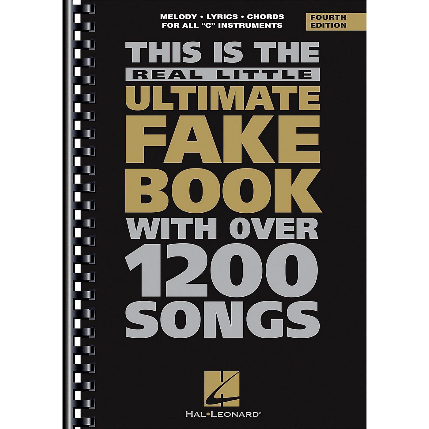 Hal Leonard The Real Little Ultimate Fake Book – 4th Edition – C Edition thumbnail