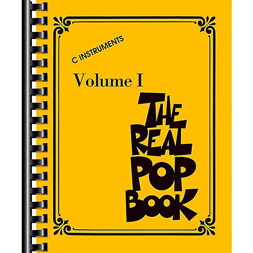 Hal Leonard The Real Pop Book Volume 1 - Real Book Series thumbnail
