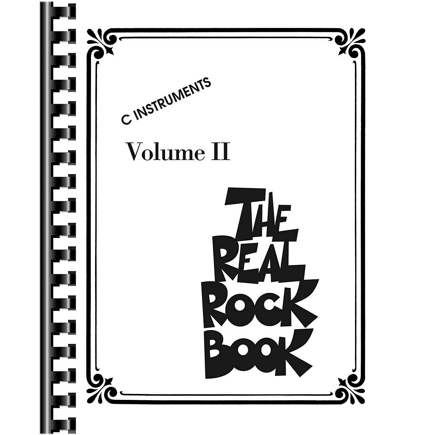 Hal Leonard The Real Rock Book Volume 2 Fake Book for C Instruments thumbnail