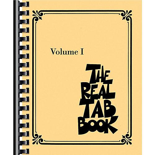 Hal Leonard The Real Tab Book - Vol. 1 (Guitar Tab)-thumbnail