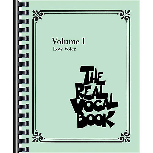Hal Leonard The Real Vocal Book - Volume 1 Low Voice-thumbnail