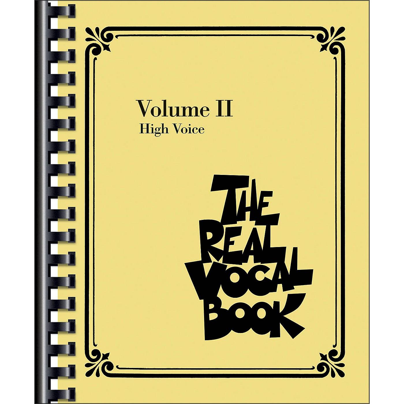 Hal Leonard The Real Vocal Book - Volume 2 thumbnail