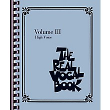 Hal Leonard The Real Vocal Book - Volume 3 - High Voice