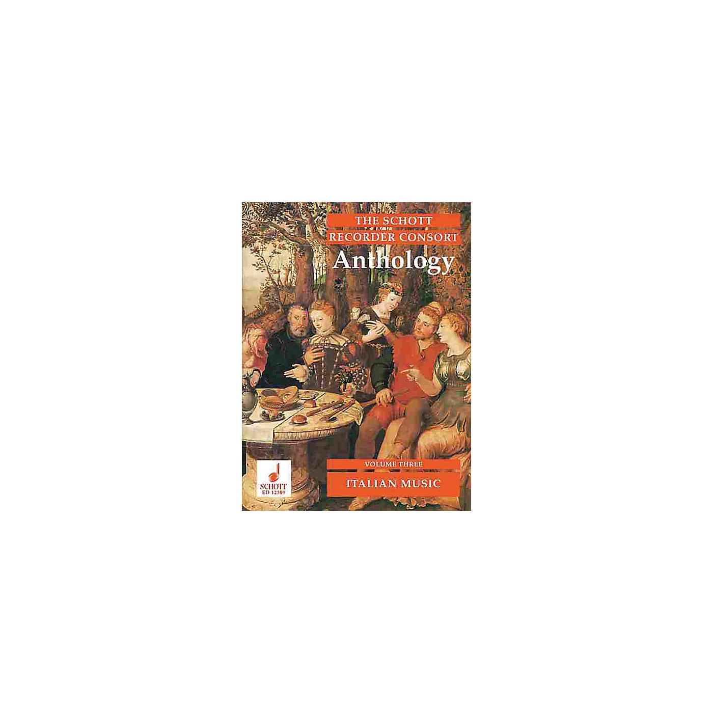Schott The Recorder Anthology - Volume 3 Schott Series by Various Arranged by Bernard Thomas thumbnail