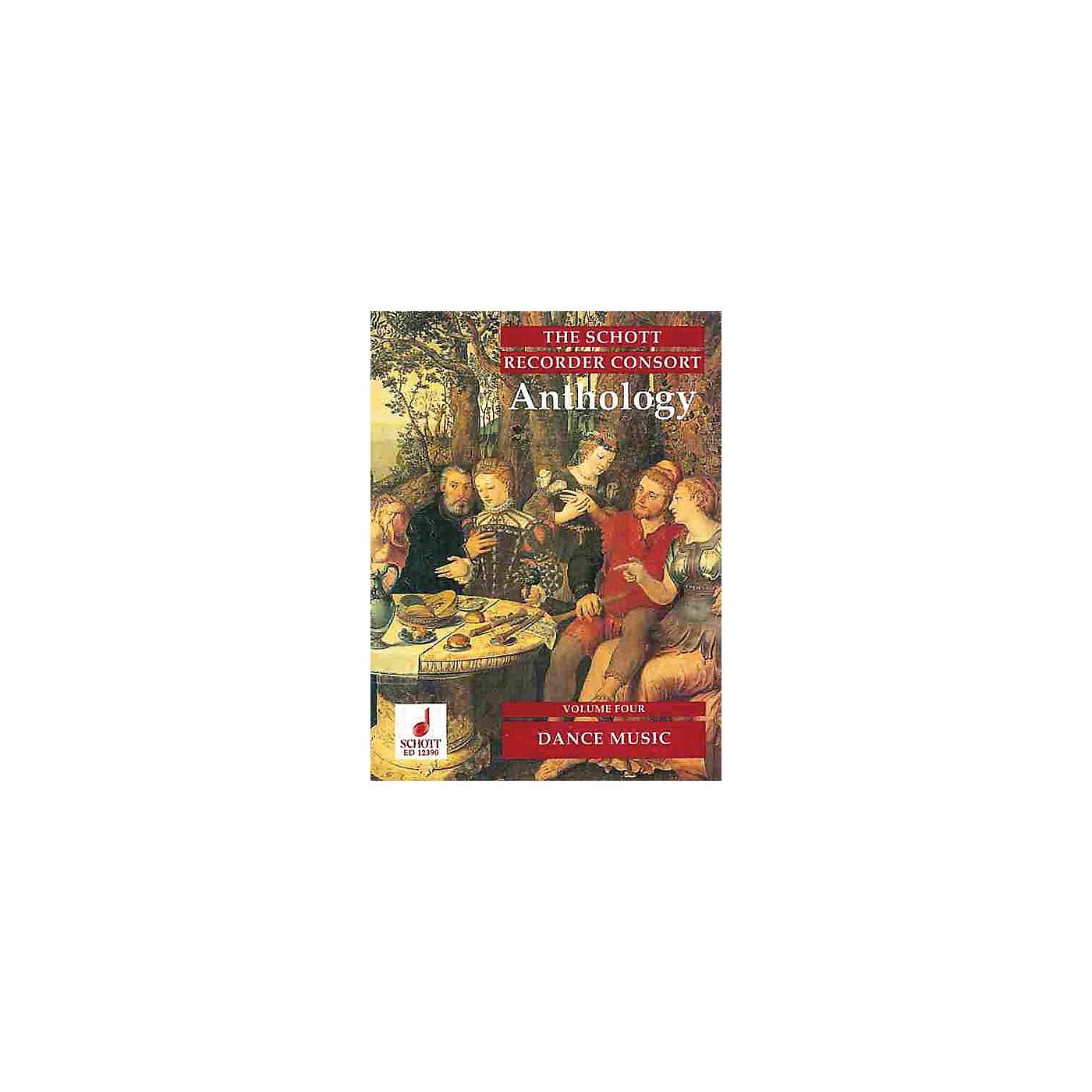 Schott The Recorder Anthology - Volume 4 Schott Series by Various Arranged by Bernard Thomas thumbnail