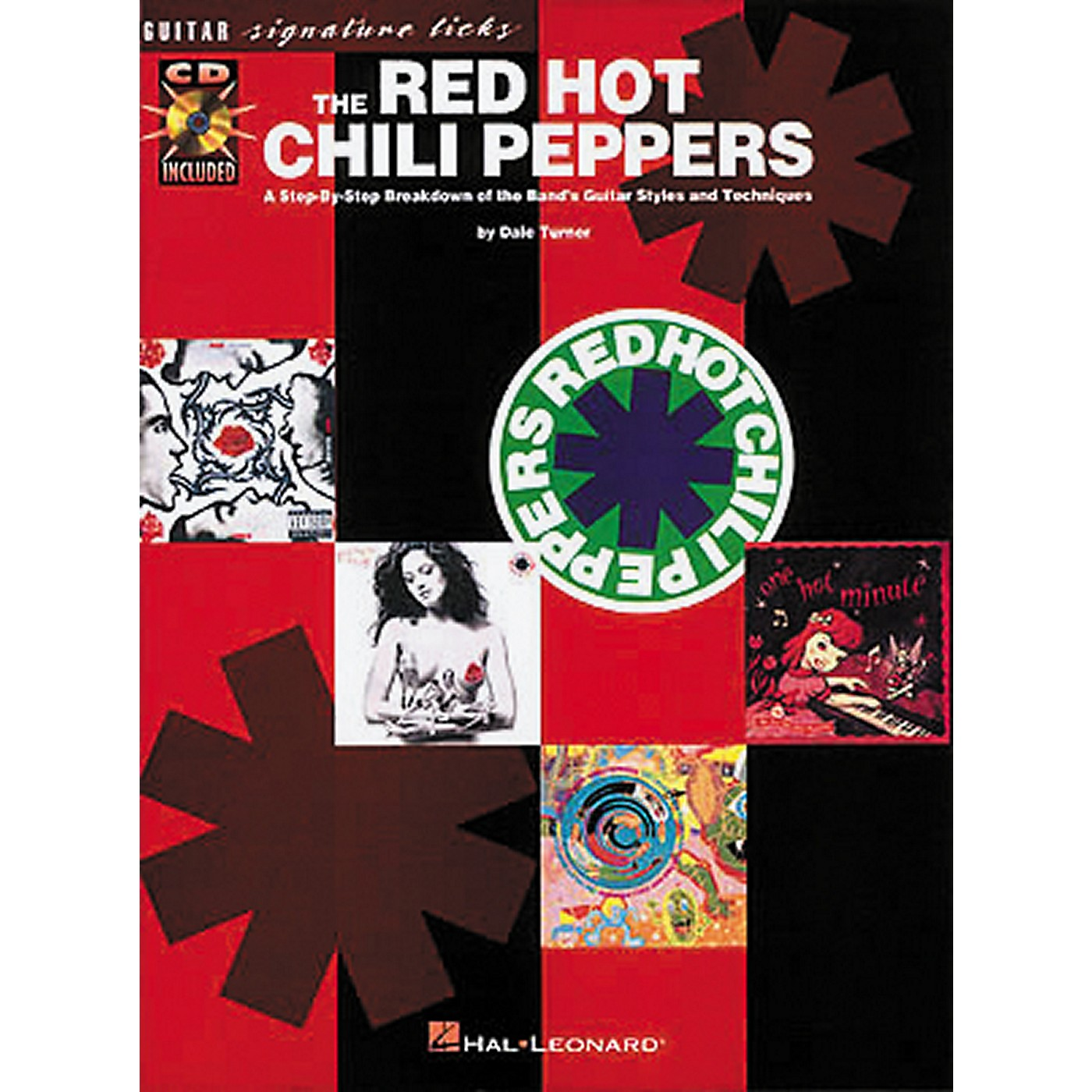 Hal Leonard The Red Hot Chili Peppers Guitar Signature Licks Book with CD thumbnail