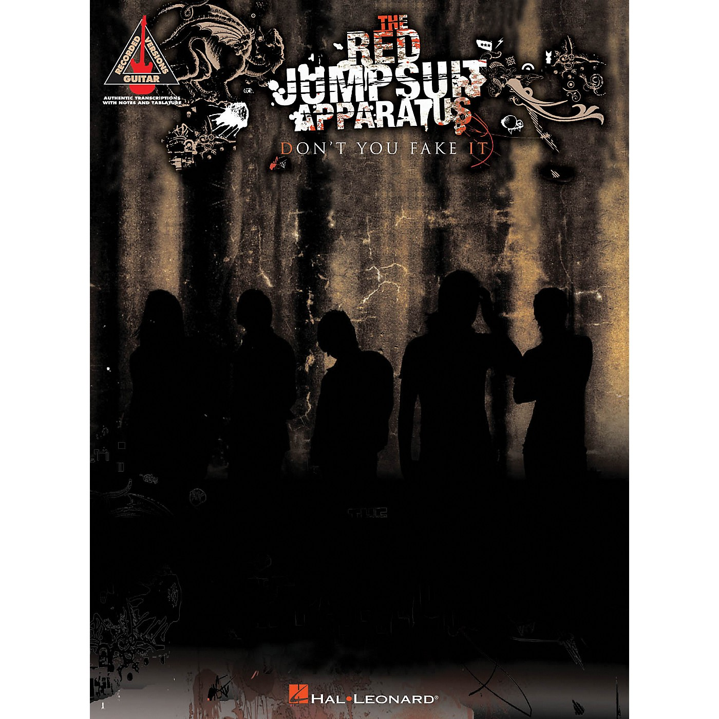 Hal Leonard The Red Jumpsuit Apparatus - Don't You Fake It Guitar Tab Songbook thumbnail