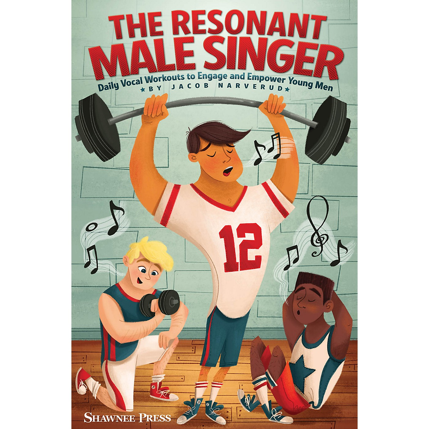 Shawnee Press The Resonant Male Singer (Daily Vocal Workouts to Engage and Empower Young Men) RESOURCE BK thumbnail