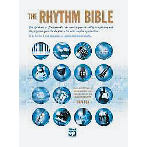 Alfred The Rhythm Bible Book and CD thumbnail