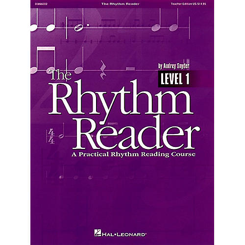 Hal Leonard The Rhythm Reader - A Practical Rhythm Reading Course Reproducible Pak thumbnail