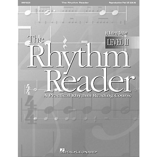 Hal Leonard The Rhythm Reader II - A Practical Rhythm Reading Course Reproducible Pak thumbnail